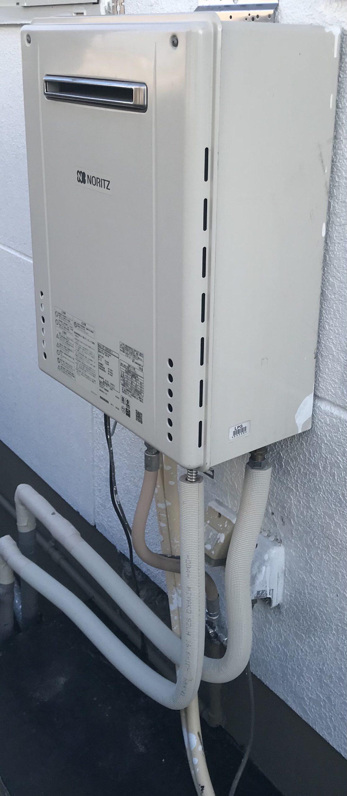 ガス給湯器 水漏れ